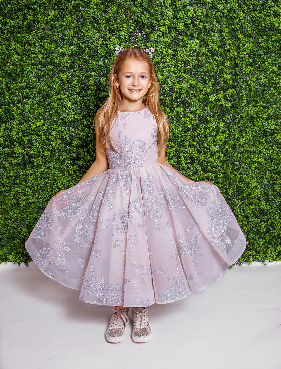 La Petite Hayley Paige Flower Girl Dress - Charlie