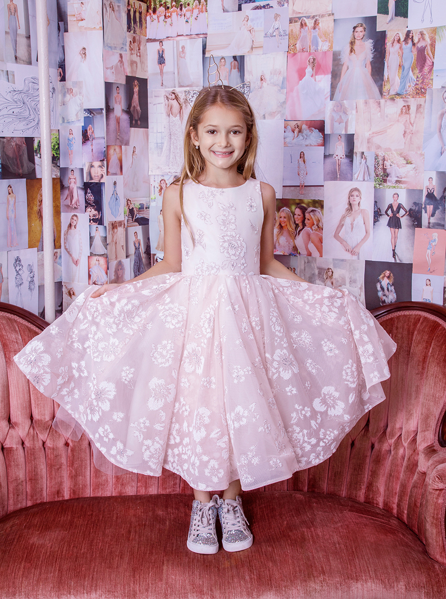 La Petite Hayley Paige Flower Girl Dress - Eloise
