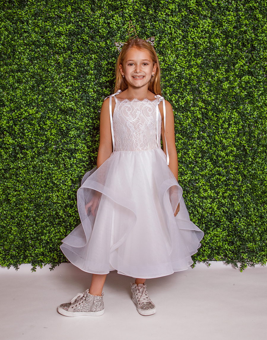 La Petite Hayley Paige Flower Girl Dress - Lillian