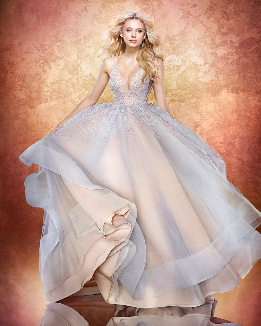Hayley Paige Laney Wedding Dress in Twilight