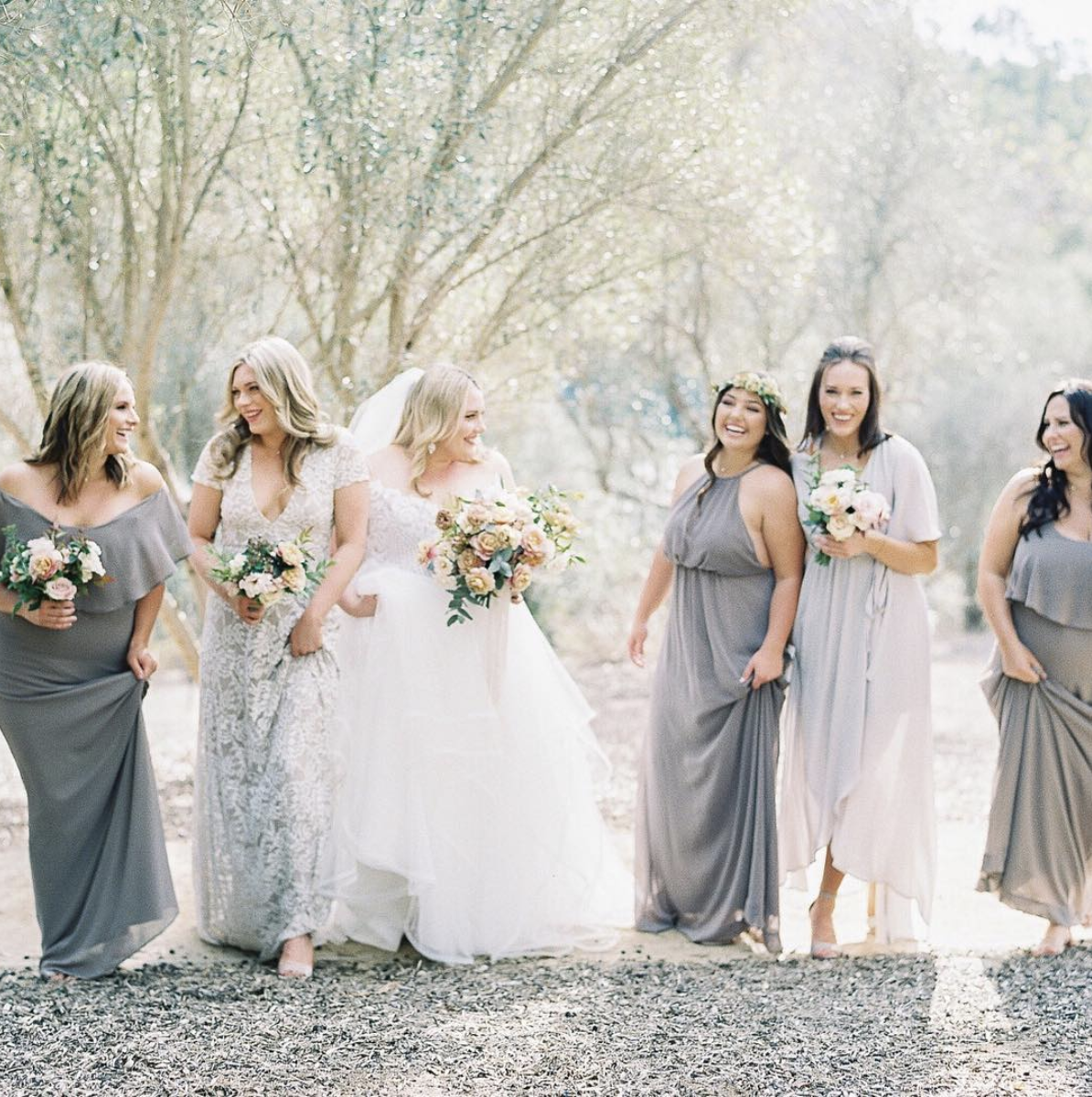 Shades of Gray Bridal Party