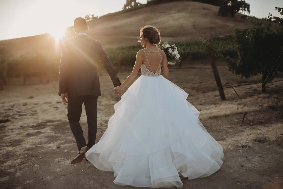 Luxury Winery Wedding Day with Hayley Paige and Haute Bride