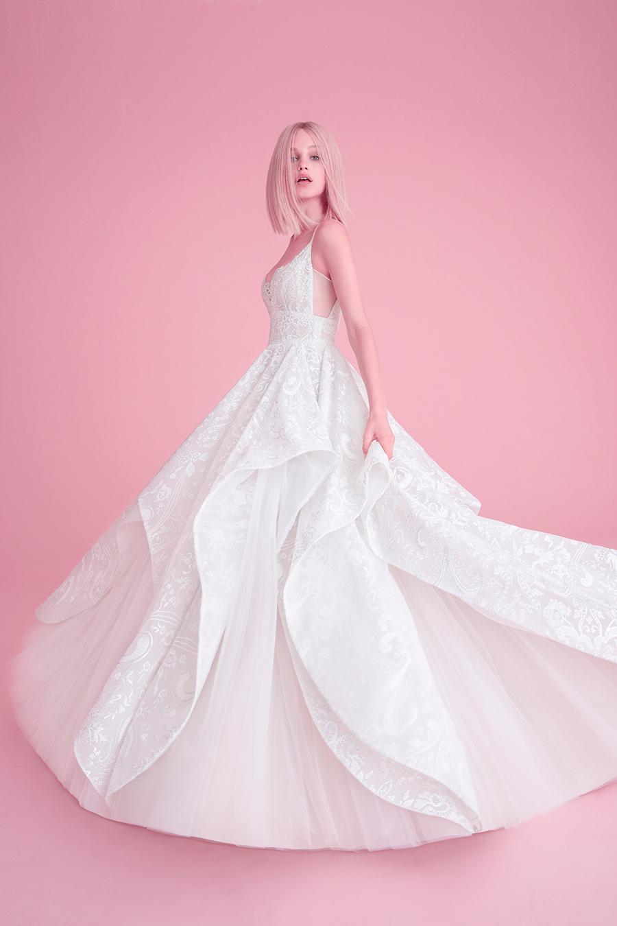 Hayley Paige Fall 2018 Markle Wedding Dress