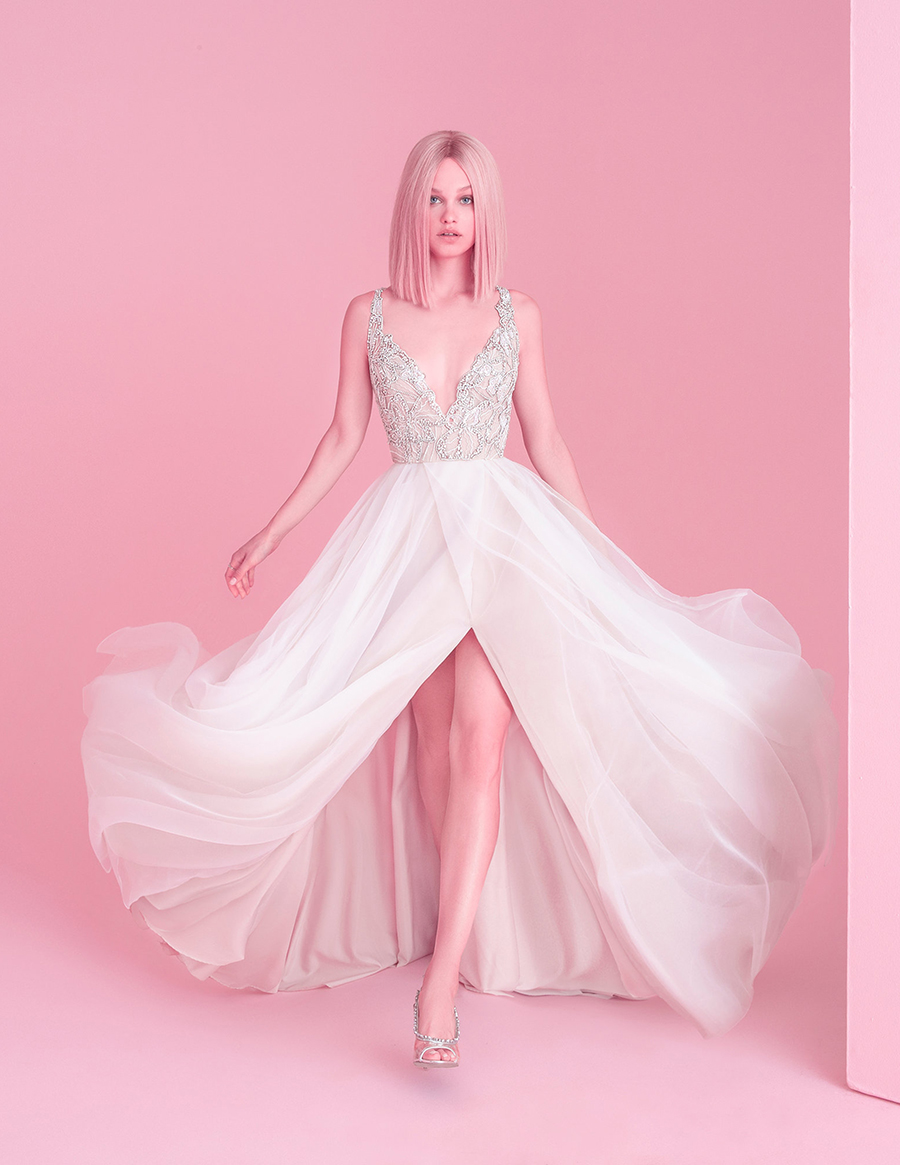 Hayley Paige Fall 2018 Warren Wedding Dress