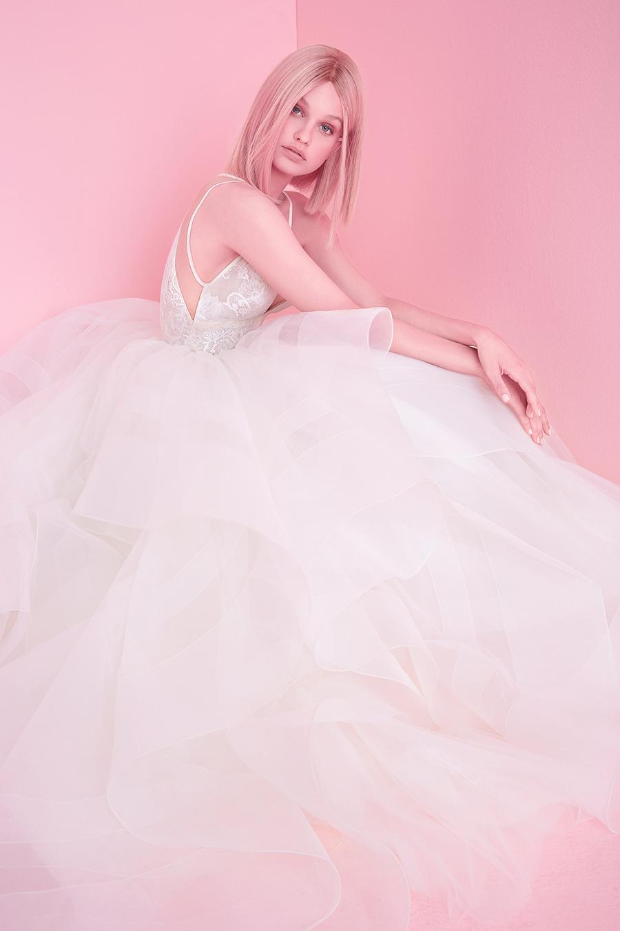 Hayley Paige Fall 2018 Aldridge Wedding Dress