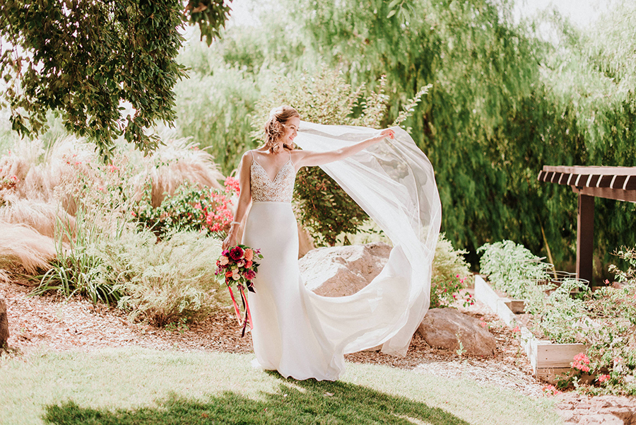 The Crepe Wedding Dress of your Dreams