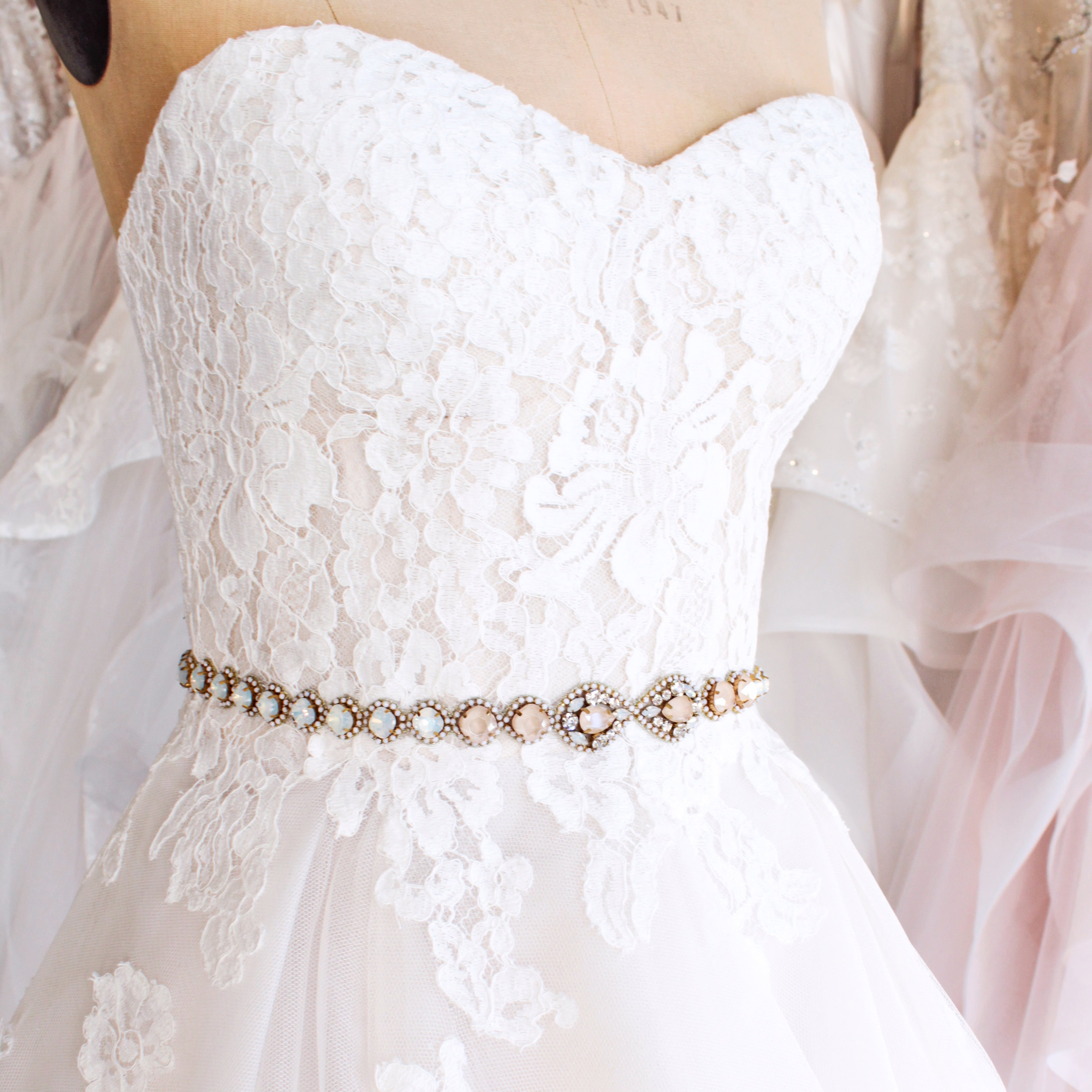 NEW Haute Bride Sashes for Spring 2019