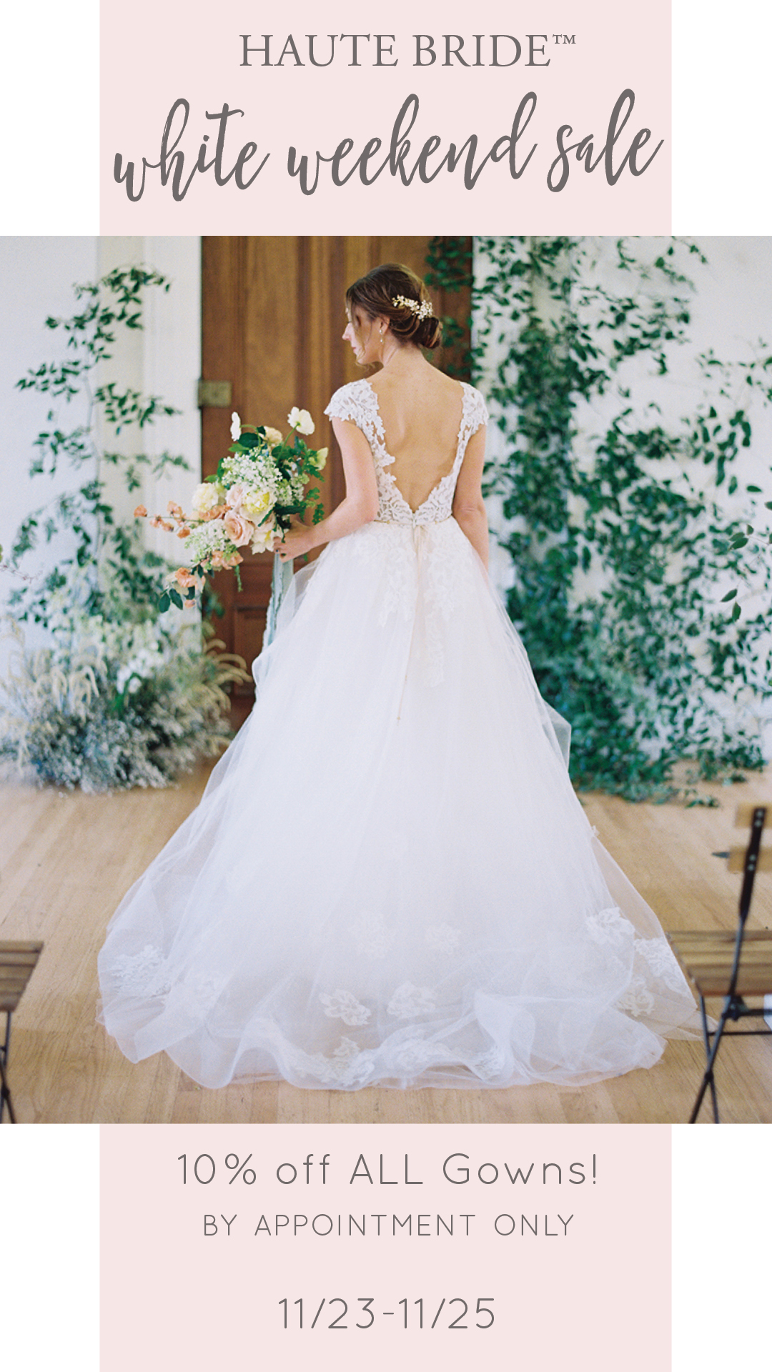 Haute Bride White Weekend Sale
