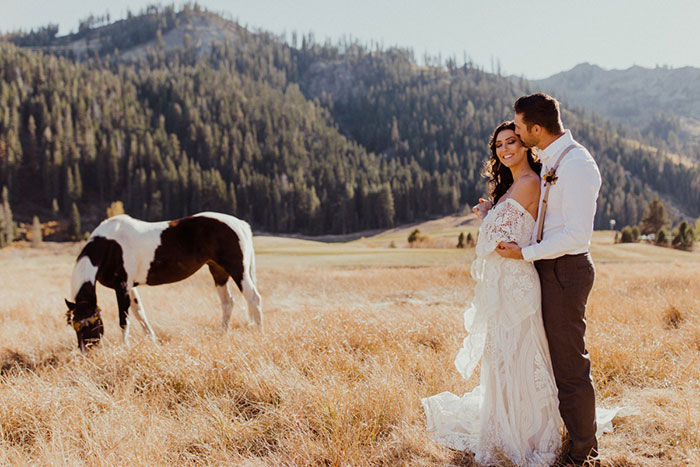 California Ranch Wedding Style