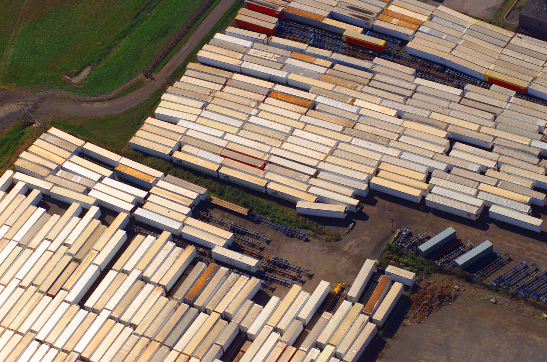 Entreposage de containers, Montreal