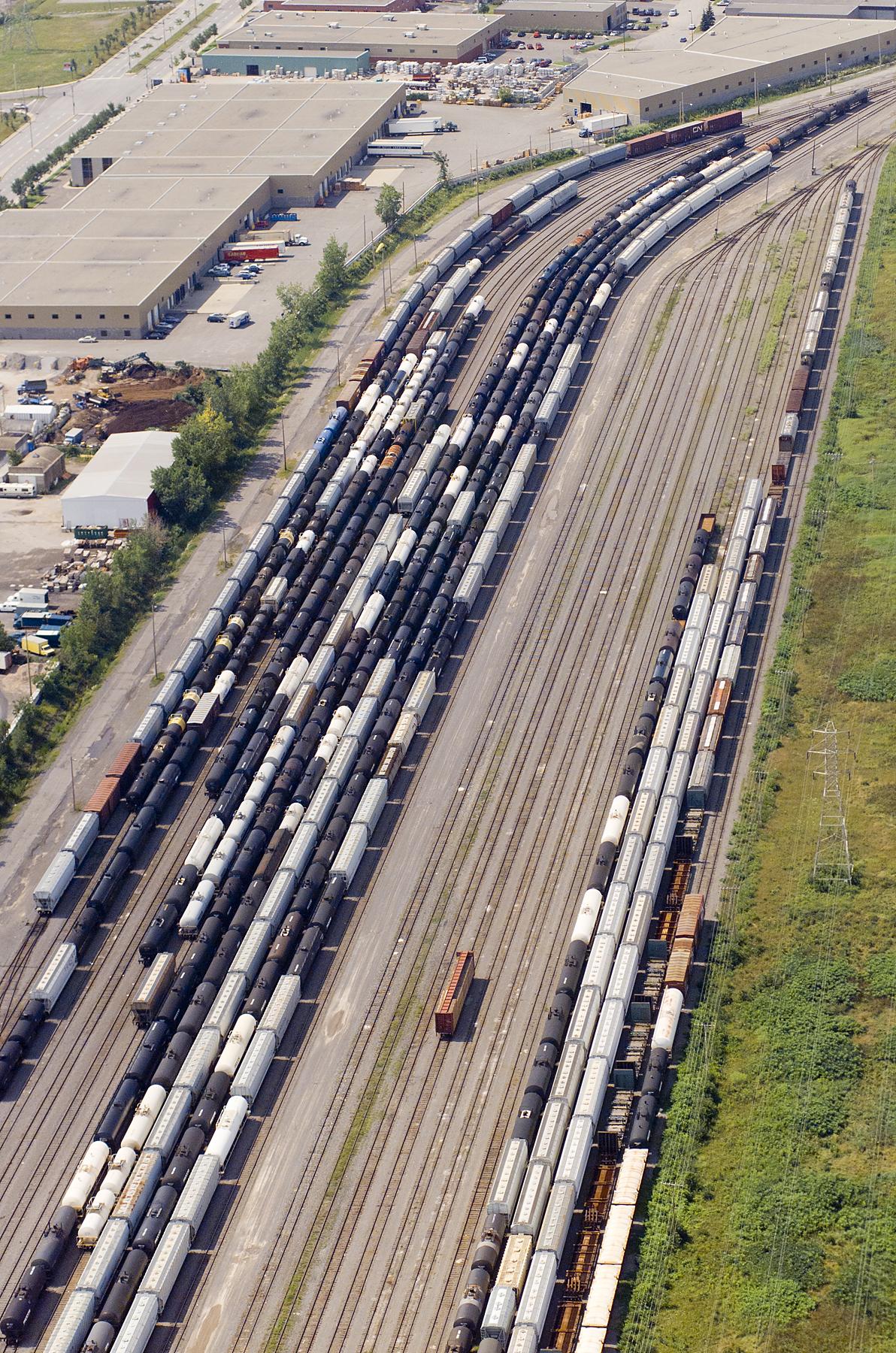 Dépot de trains, Montreal
