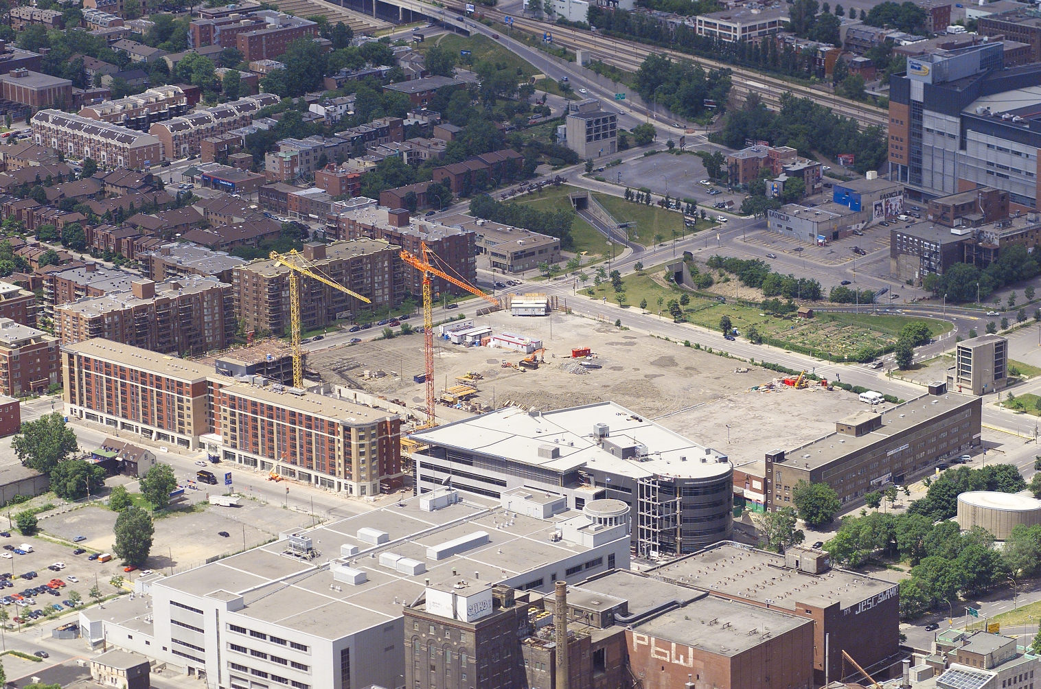 Site en construction, Montreal