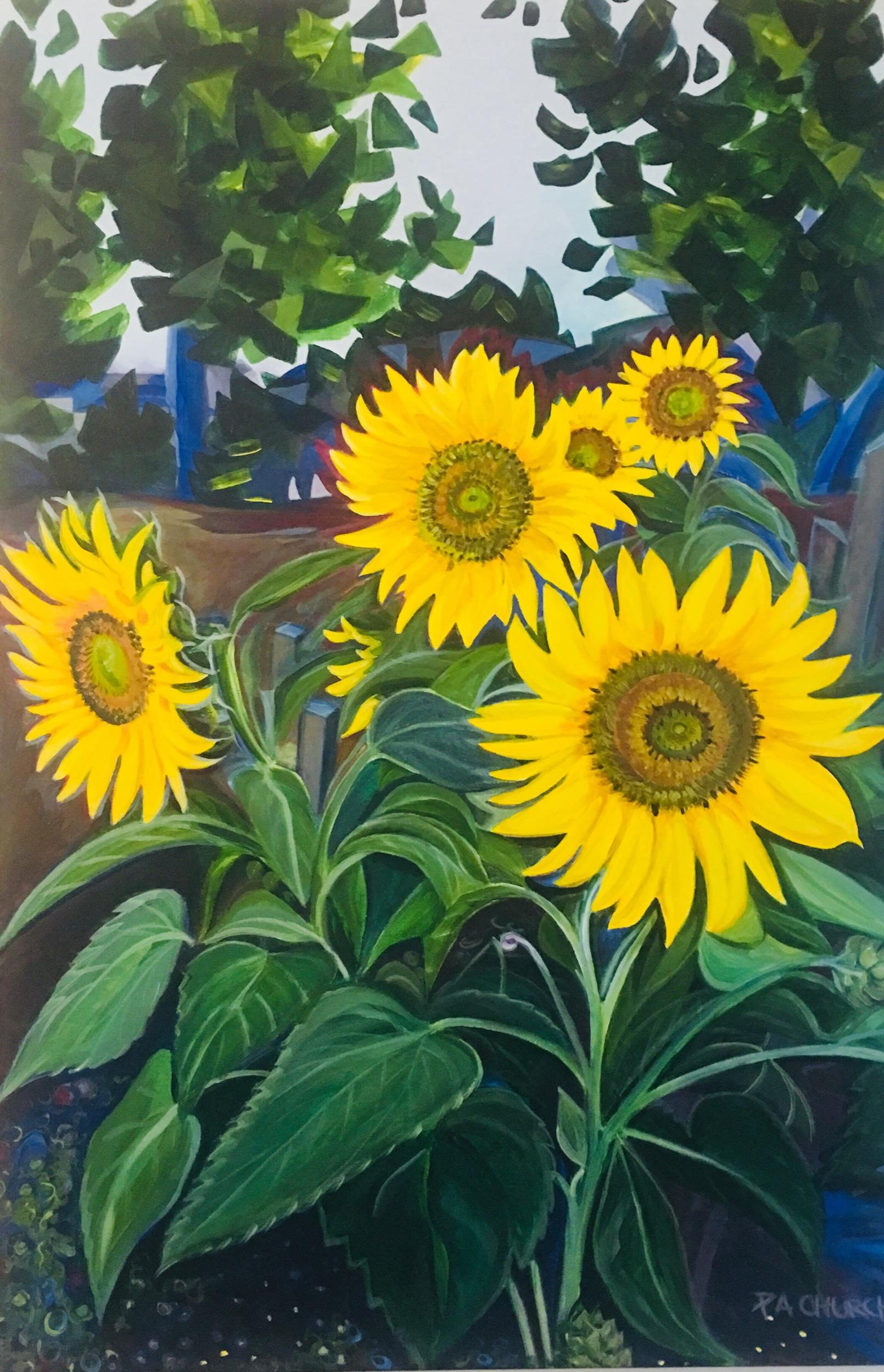 """Sanford Street Sunnies 24""""x36"""" Acrylic $650"""
