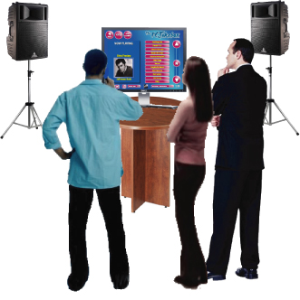 PC Jukebox Rental - With over 19,000 songs to choose from, you & your guests will be sure to enjoy your party or event. Our PC Jukebox is perfect for Christmas parties (plenty of Christmas music to choose from), birthdays, outdoor events, or any corporate event.