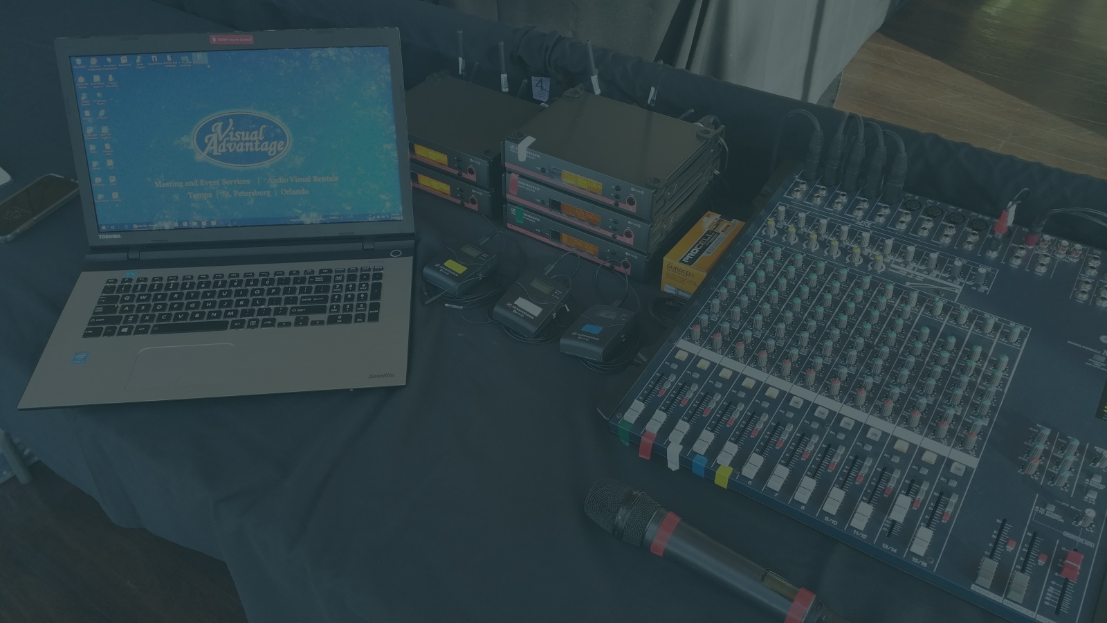 AUDIO VISUAL RENTALS - Visual Advantage provides audio, video and lighting rentals for meetings, conferences, seminars and corporate or personal events. Our equipment rentals are always updated and reliable.