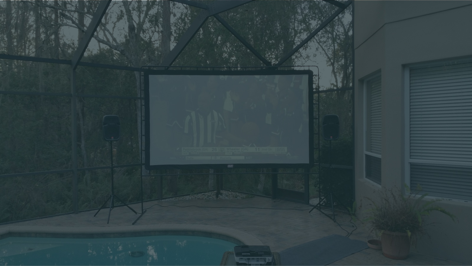 OUTDOOR MOVIE NIGHTS - We do it all. Delivery, setup and come back to breakdown so you can enjoy time with family and friends.
