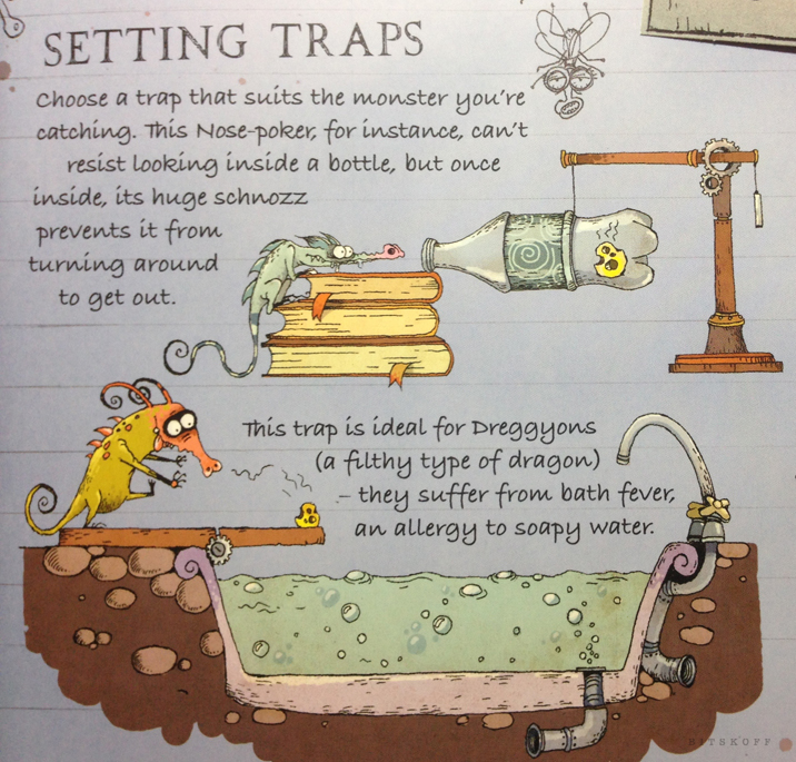 Choose a trap that suits the monster you're catching.