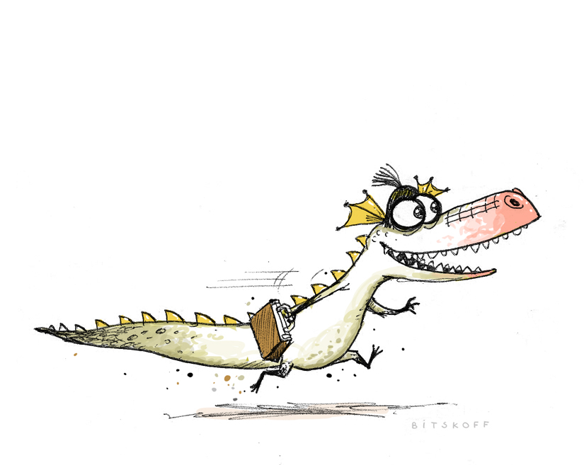 Monday Crocodile