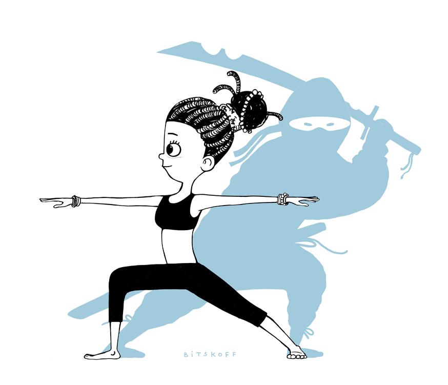 Yoga Ninja Warrior