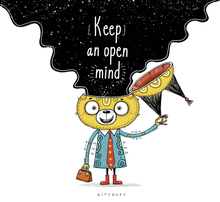 KeepanOpenMind
