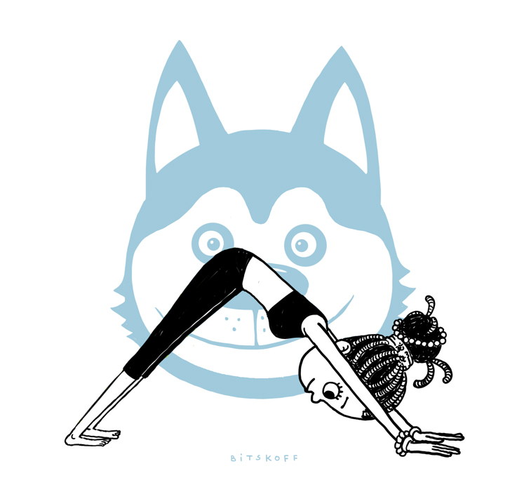 downward-facing dog