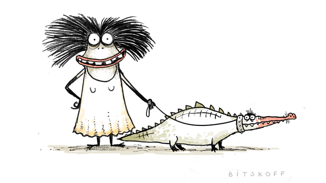 Walking with Crocodile