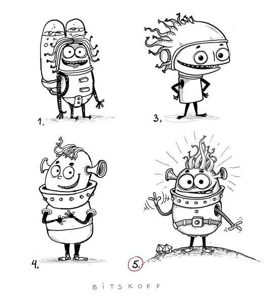 Character Development Aliens