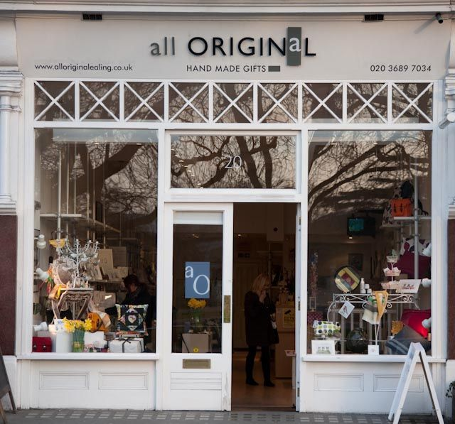 The shop front of all Original, Ealing