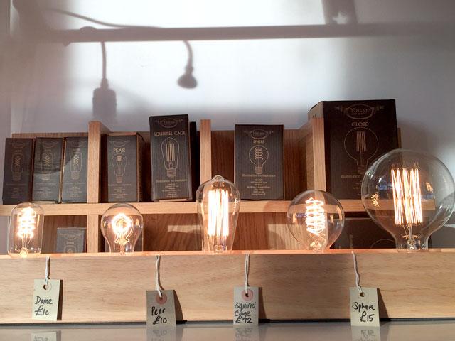 Light bulbs sold at all Original, Ealing