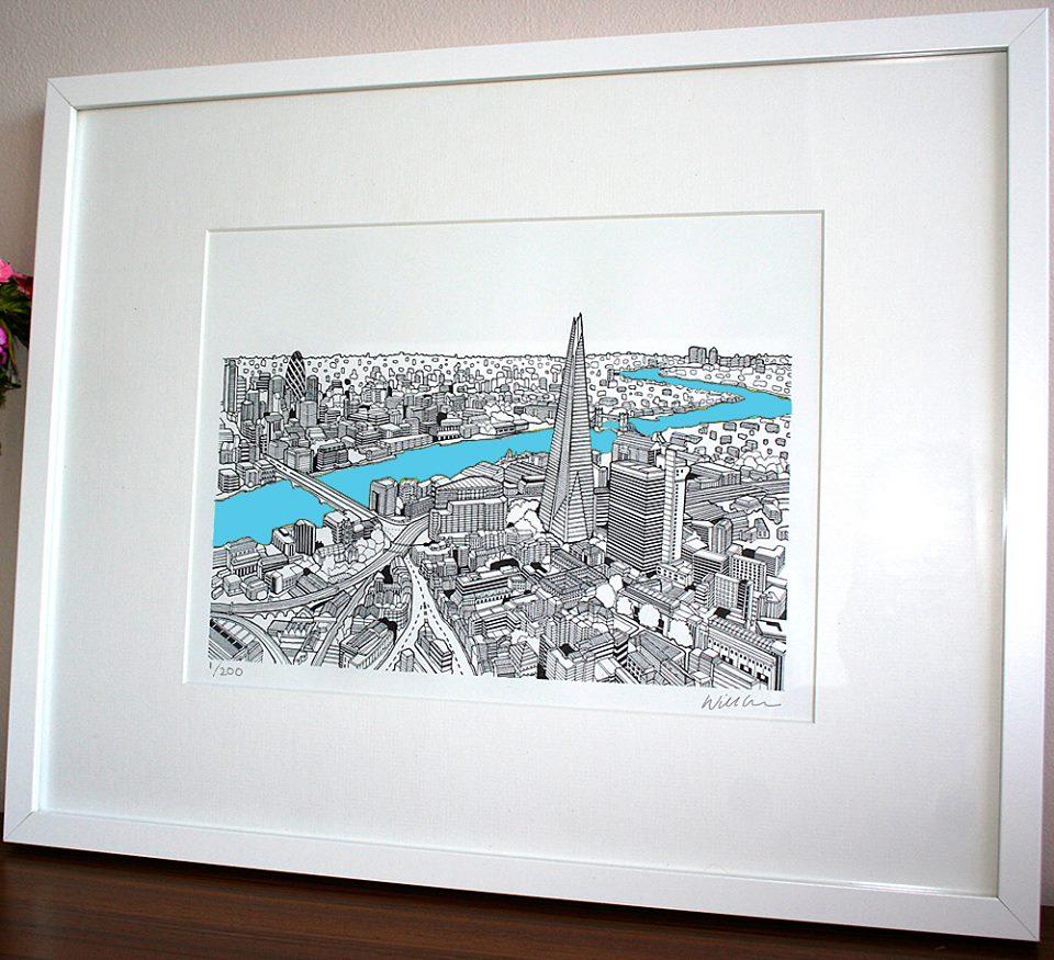 London print sold in Mooch, Ealing