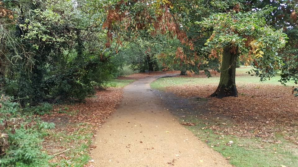 Pitshanger park running route, Ealing