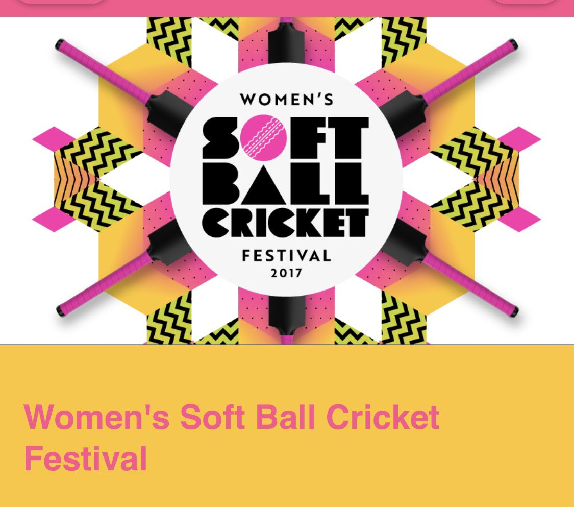 Womens soft ball cricket festival