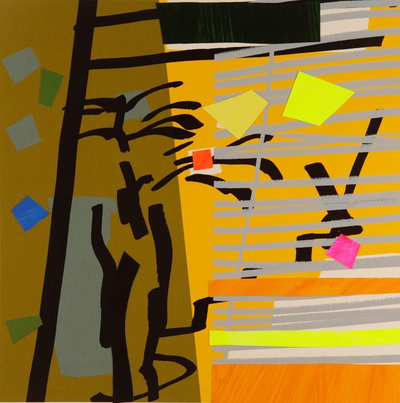 Tree Fern and Shadow Yellow.jpg