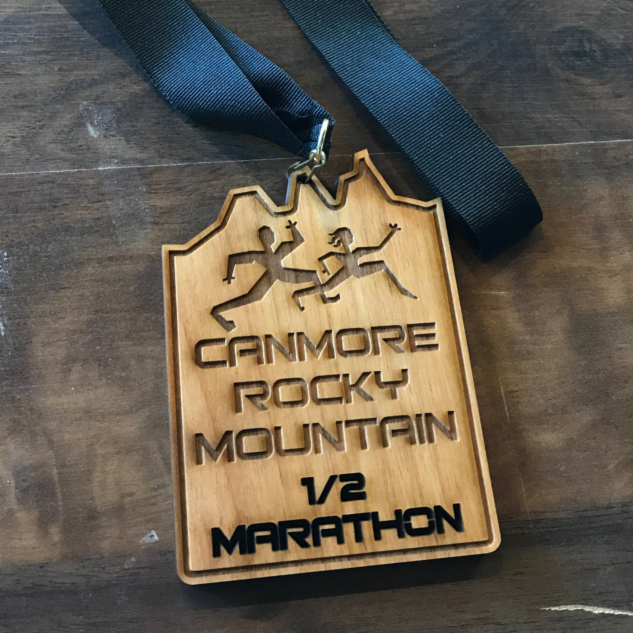 NEW! ALL runners in the Half Marathon, 10K & 5K races will this year receive a finisher medal. The medals are locally made, and crafted from BC red alder wood.