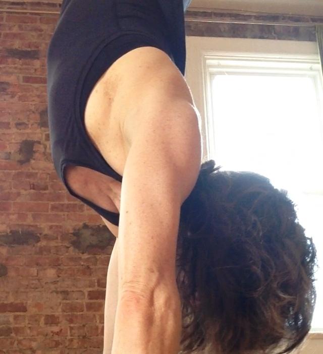 Yoga Speak: New Again, handstand