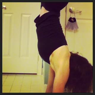Yoga Speak: Silly, handstands
