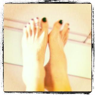 Yoga Speak: My Feet