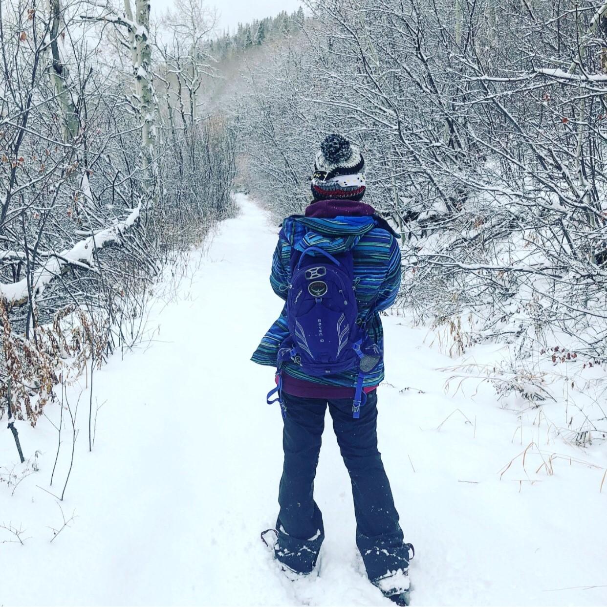 Faithful steps by Alexandra Samit, December 2017