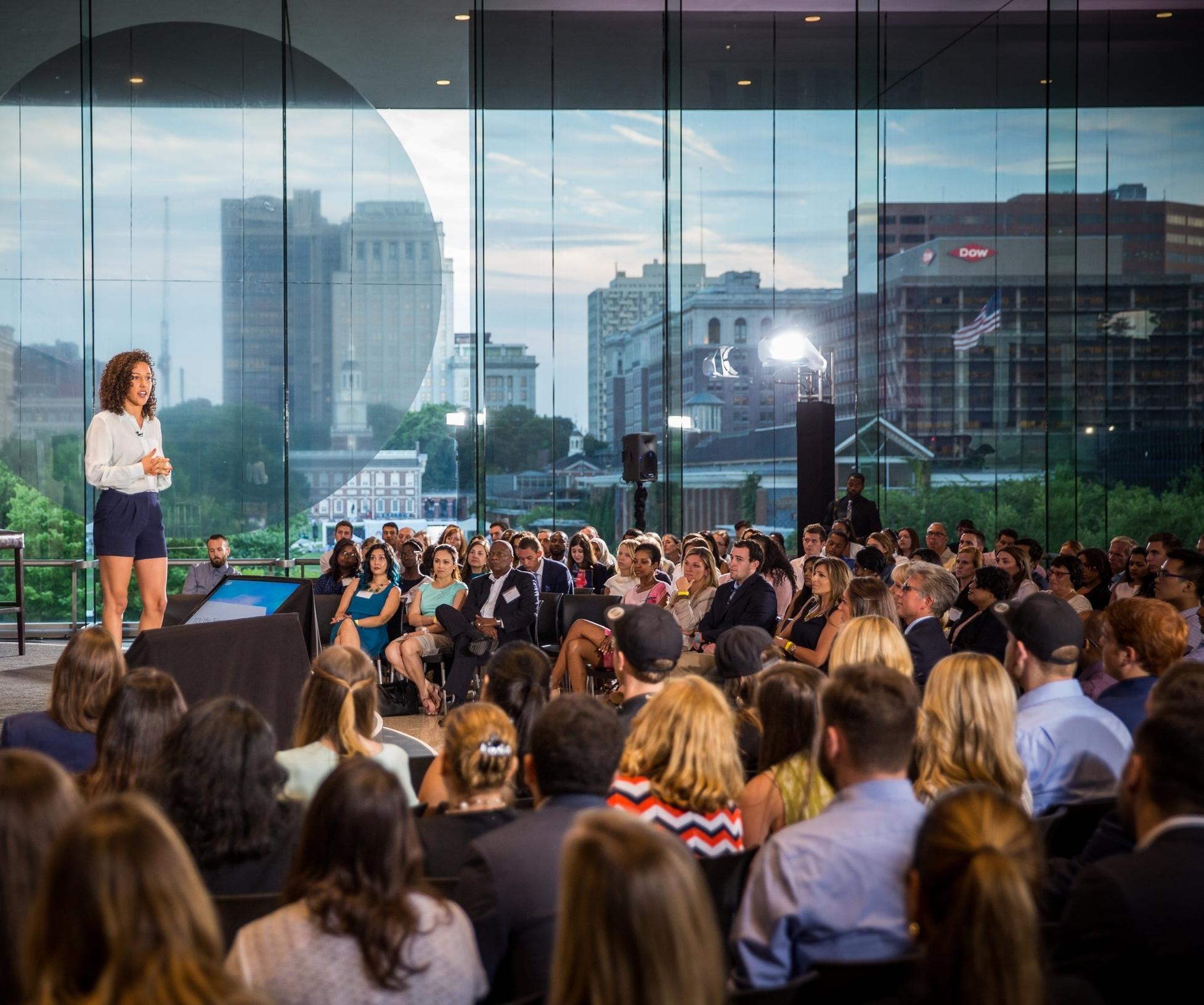 SAP We The Future Summit 2017, Keynote Speaker, National Constitution Center Philadelphia