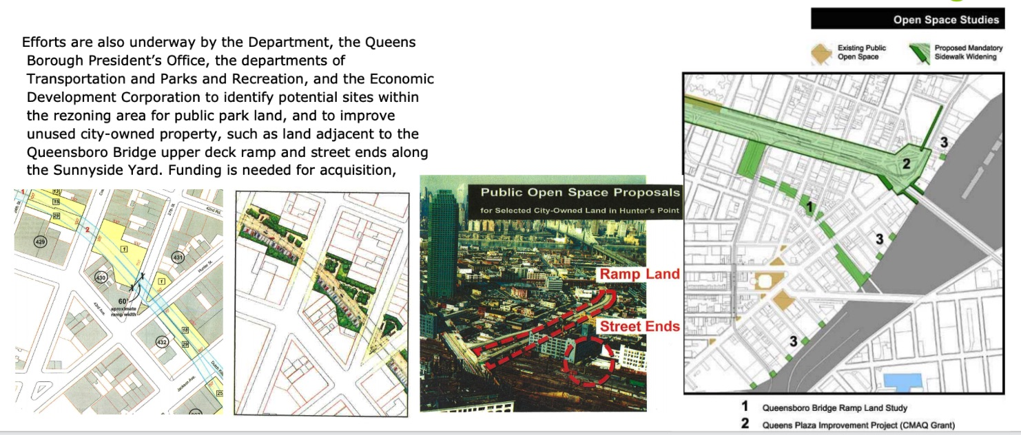 Oct, 2001 - NYC City Planning, Queensboro Bridge Ramp Land Study