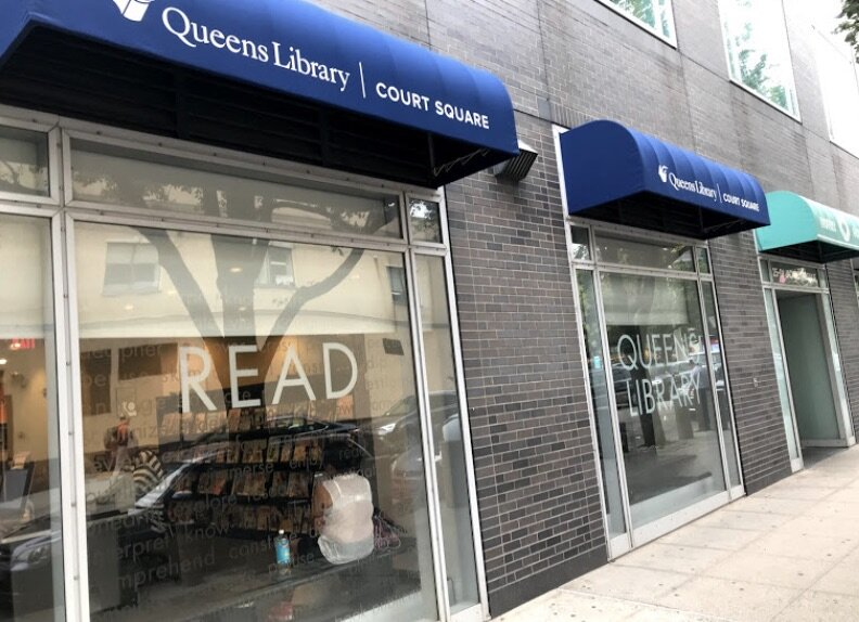 Queens Library in Court Square at 25-01 Jackson Ave, Long Island City, NY 11101