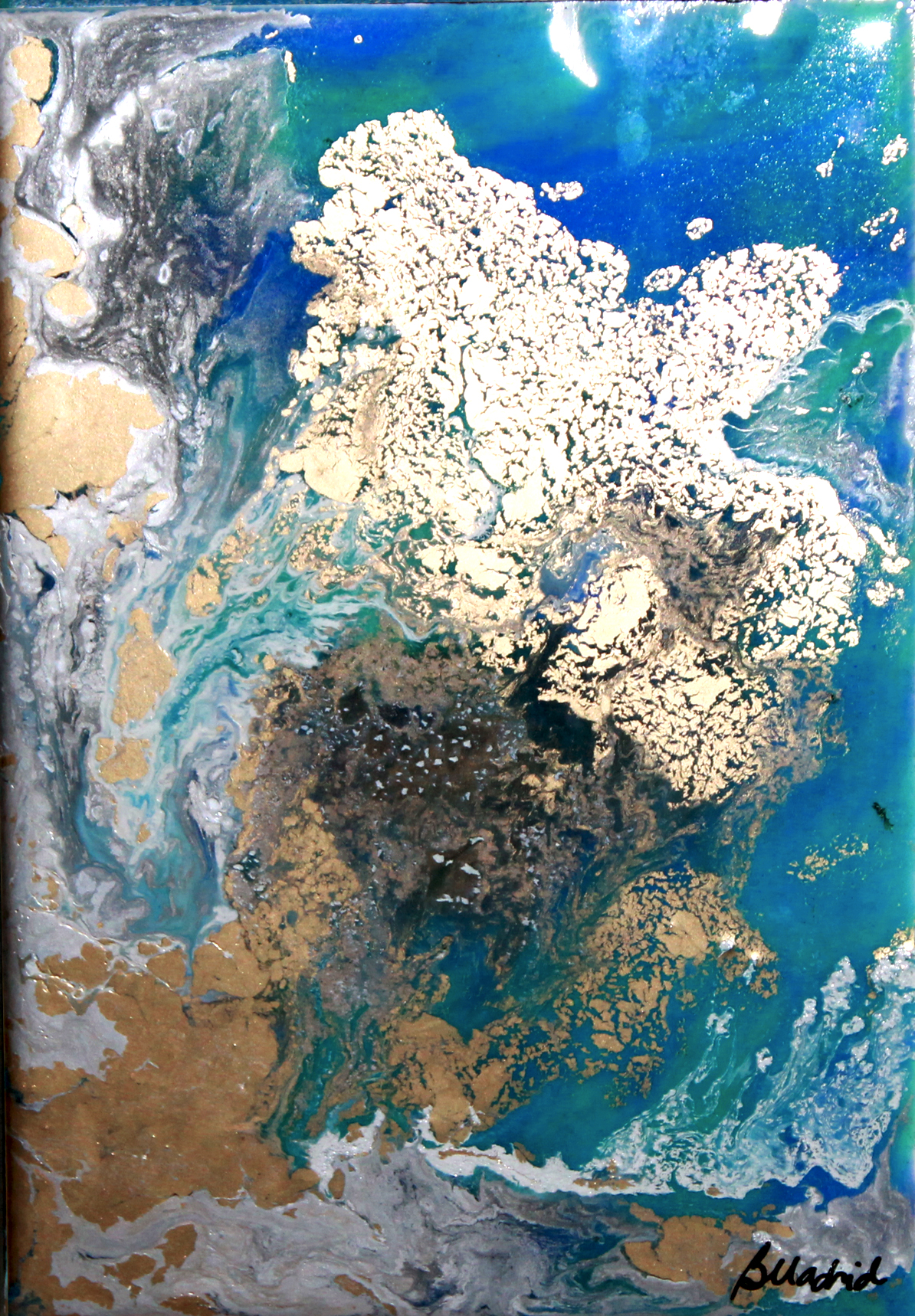 View from Space | Painting 1 of 4
