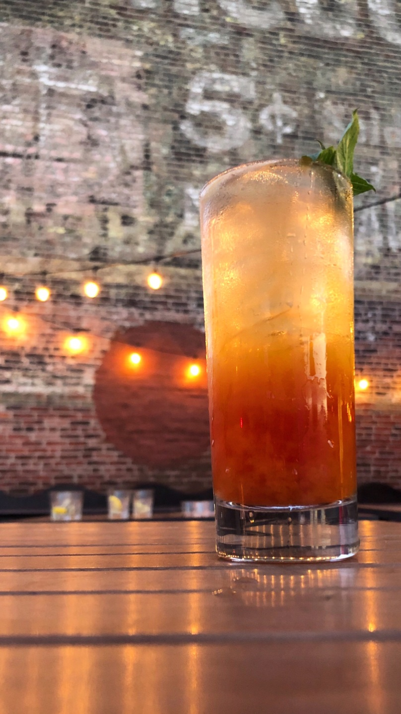 Our Passionfruit Pimms Craft Cocktail