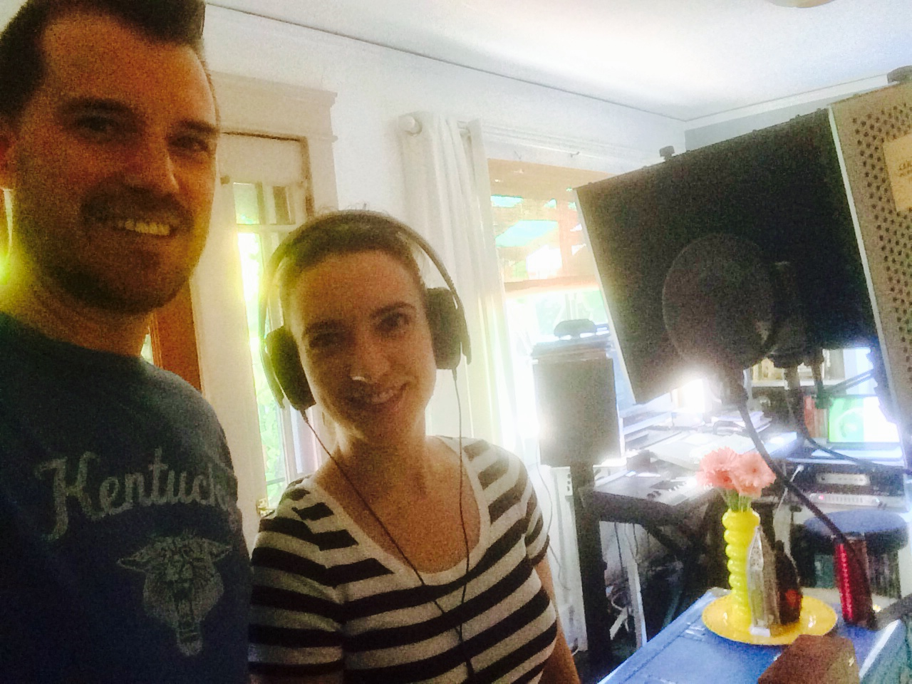 INSULT TO INJURY recording session with Jennifer Weiss (French Doctor)