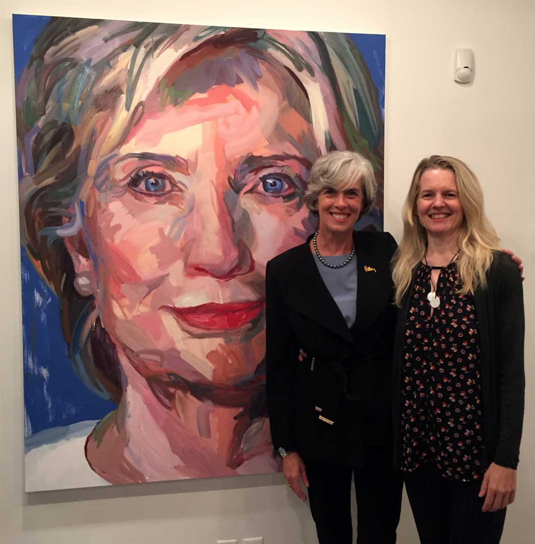 Jo Hay with Representative Catherine Clark