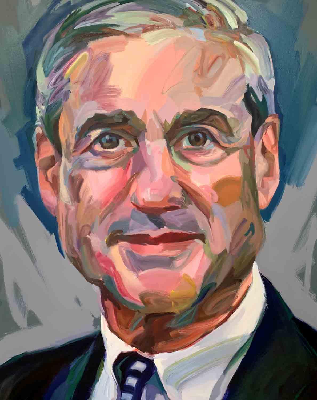 """Robery Swan Mueller III, 2018 Oil on Canvas, 48x60"""""""