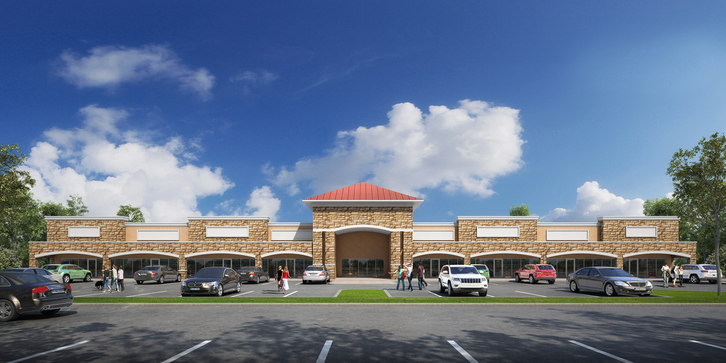 Planned Retail/Office Development   950 S Carrier Pkwy, Grand Prairie, TX