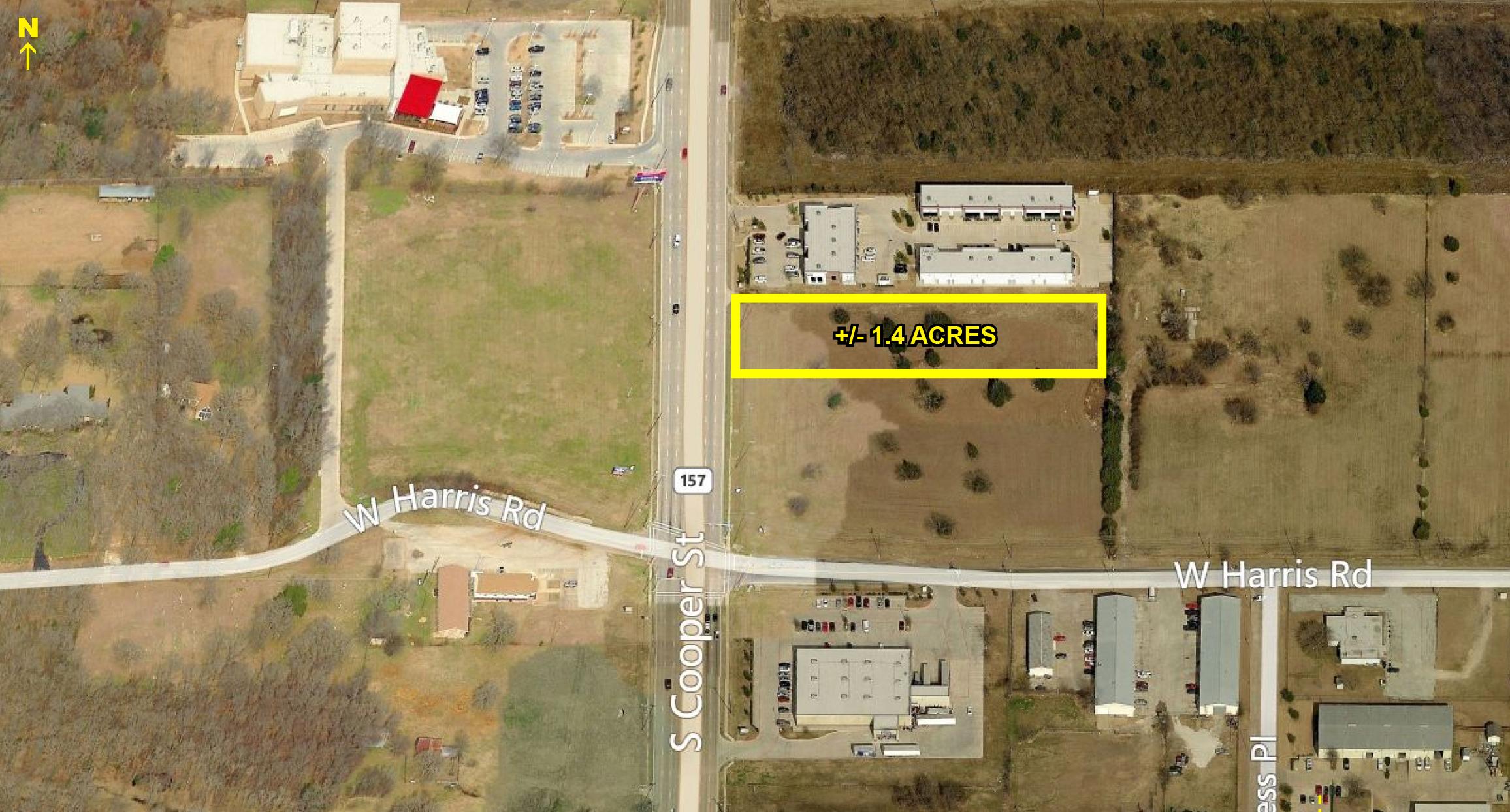 7207 S Cooper St, Arlington  1.4 acres