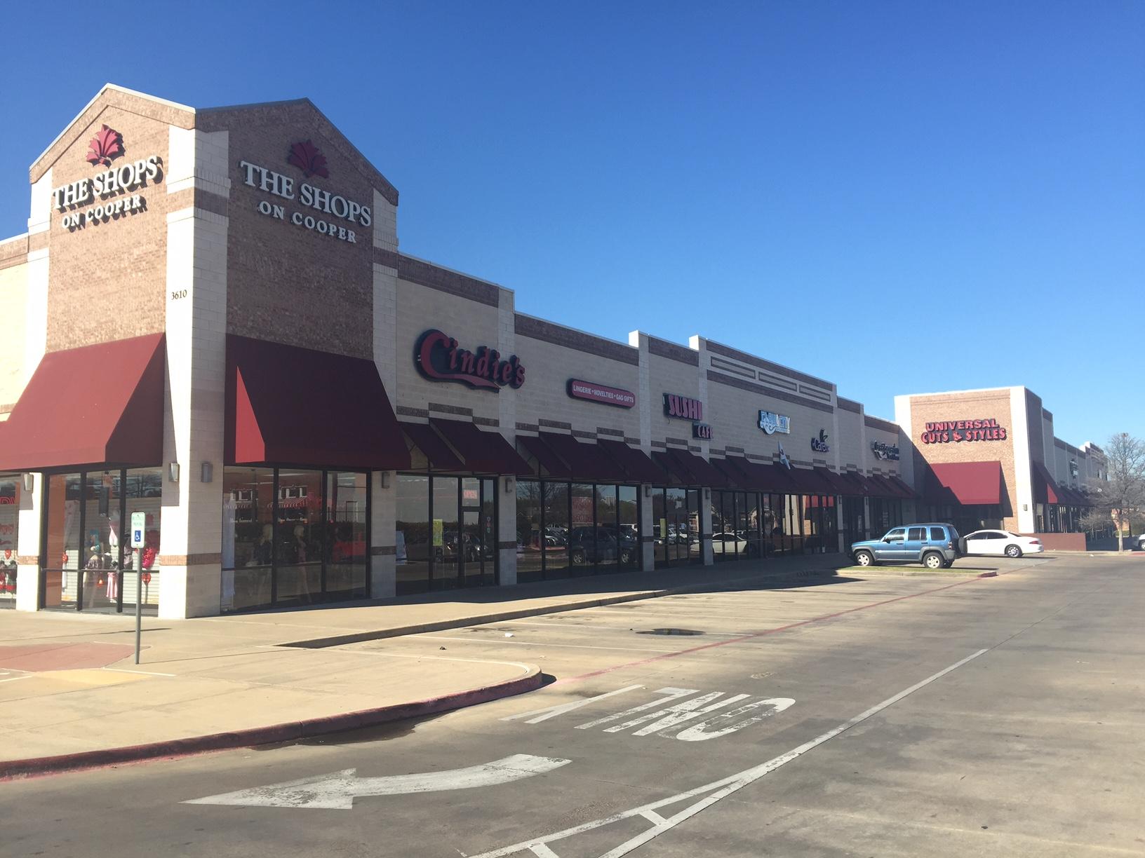 The Shops on Cooper   3610 S Cooper St, Arlington, TX