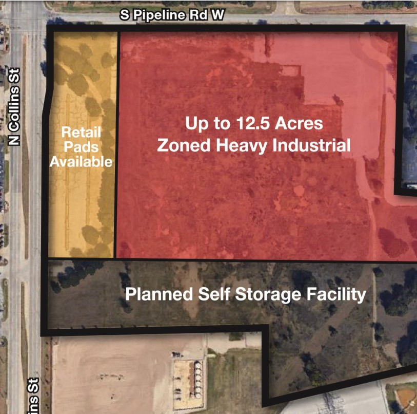 4000 State Highway 157, Fort Worth, TDX 76040  1.0-16.5 acres - Retail & Industrial